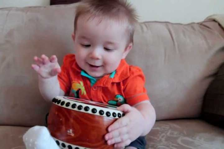 Your Baby Repeats Actions That Produce A Noise