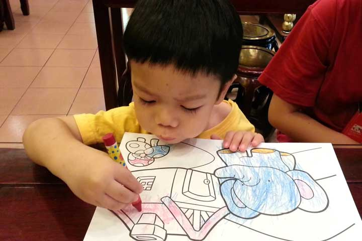 Your Child Will Now Be Able To Color Within Lines