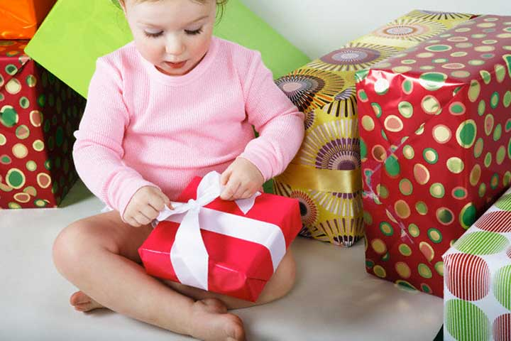 Your Little One Is Now Able To Unwrap Gifts
