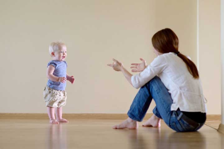 Your Little One Will Take A Few Steps Without Falling