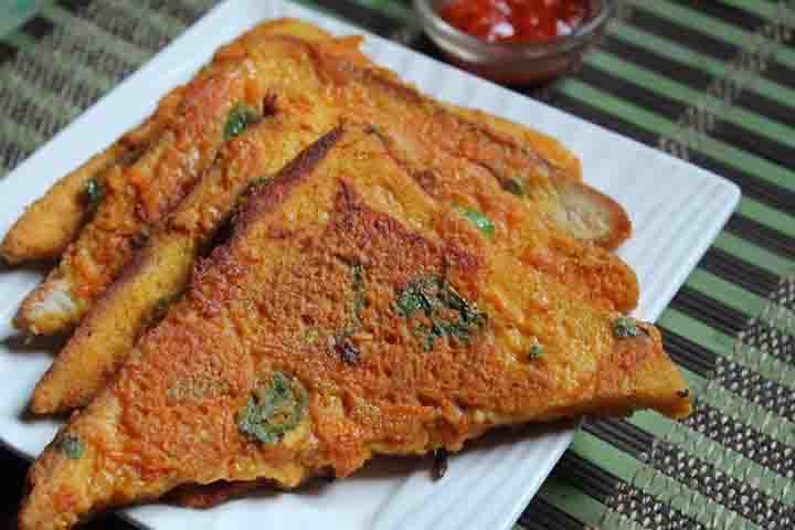 Yummy Besan Bread Toast For Your Kiddo!