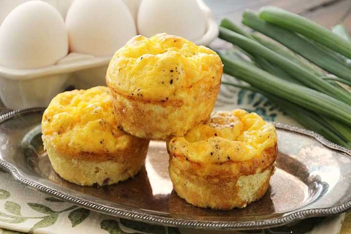 Yummy Egg And Cheese Muffins