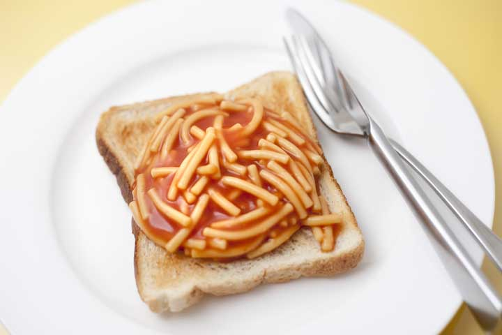 Yummy Noodle On Toast!