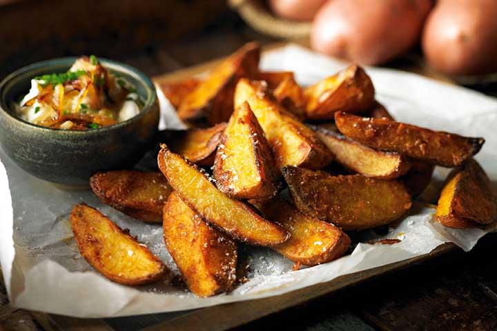 Yummy Potato Wedges!
