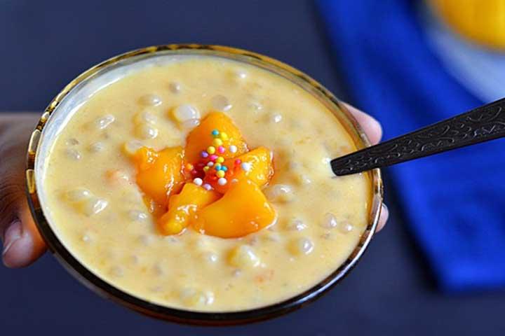 Yummy Velvety Sago Pudding