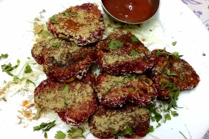 Yummy Beetroot Cutlet