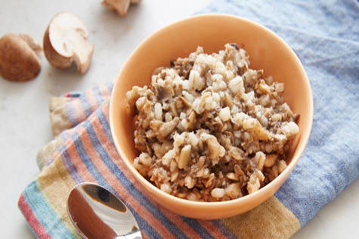 Barley Mushroom Mash