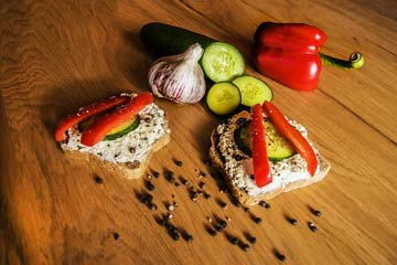 An All-Time Snack - Capsicum Cheese Toast