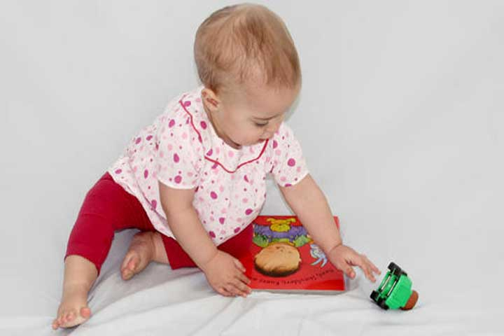 With Improved Motor Skills, Your Baby Wants To do things Independently