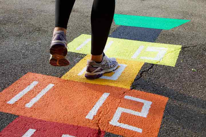 Your Child Has Become Skilled In Games Like Hopscotch