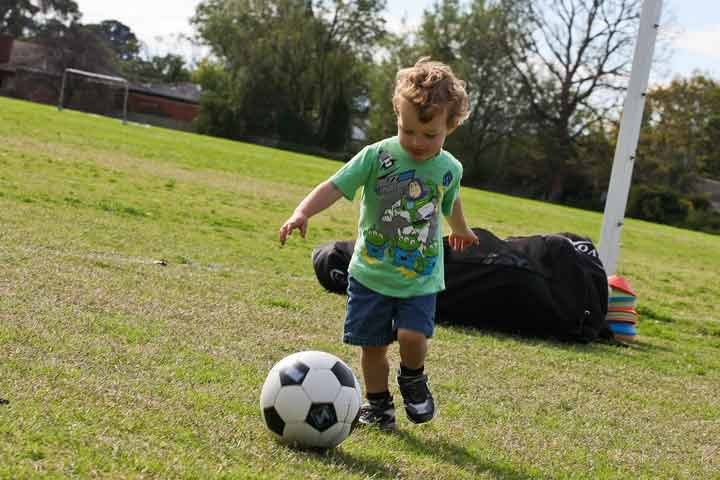 Your Little One Can Kick The Ball Both Backward And Forward