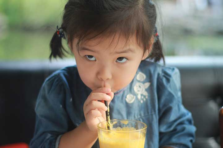 Your Little One Can Now Drink Using A Straw