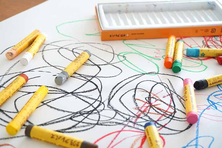 Your Child Now Can Draw Circles With Crayons