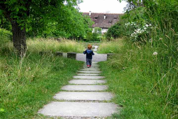 Your Little One Is Likely To Walk Up & Down The Stairs Without Assistance