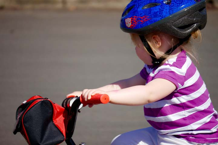 Your Little Darling Is Now Able To Pedal A Tricycle!