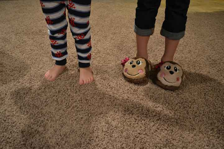 Your Kid Is Now Able To Balance On Her Toes For A Short Time