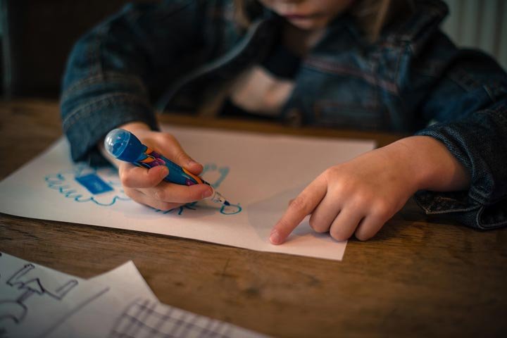 Your Kiddo Can Now Concentrate On A Task And Avoid Distractions
