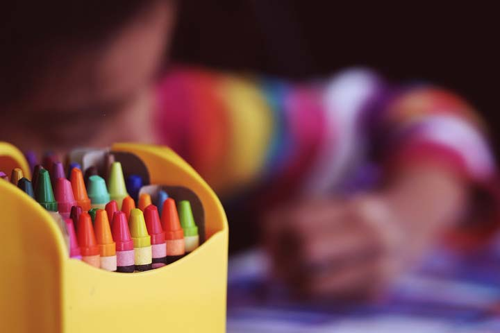 Your Child Enjoys Using Commonly Found Objects For Art & Craft