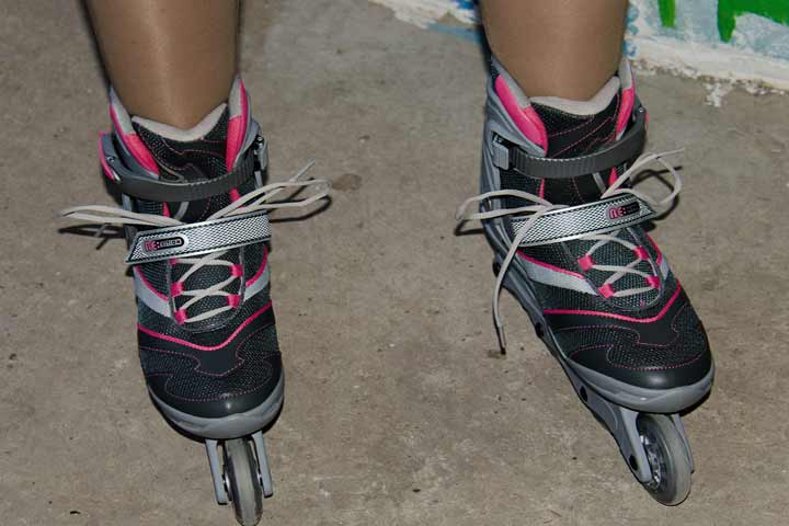 Your Kid May Be Able To Balance On Roller Skates