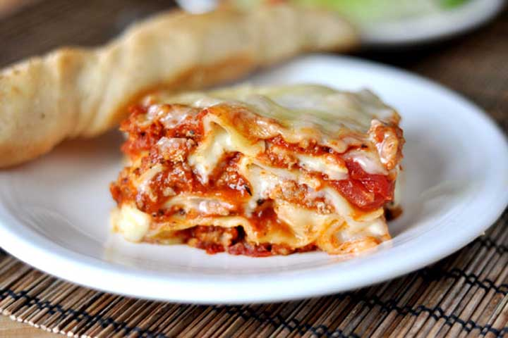 Lovely Lasagna For Your Little Darling!