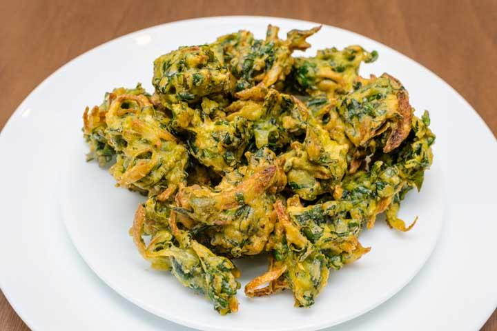 "Healthy Savoury ""Palak Pakoda"""