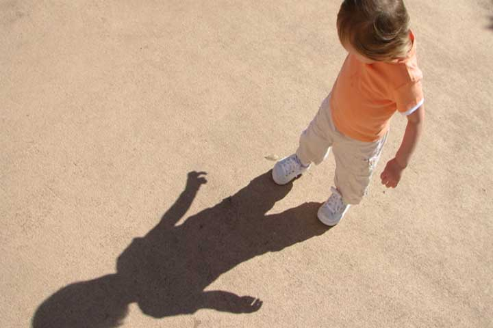 Your Little One May Experience Fear On Seeing Their Own Shadow