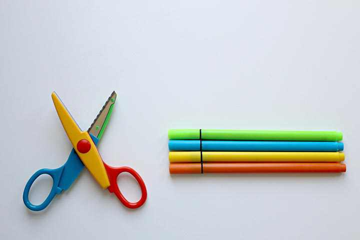 Your Kiddo Can Now Hold Scissors Properly & Can Cut Paper With It