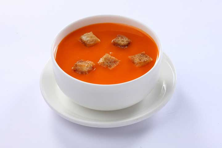 Lip-Smacking Tomato Soup For Your Darling