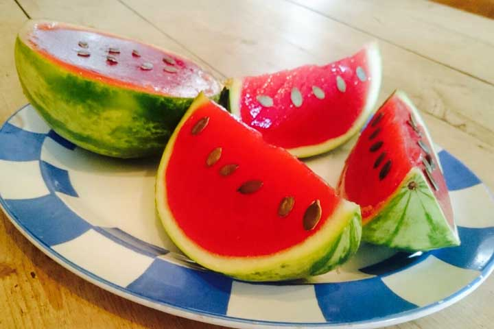 Refreshing Watermelon Jelly