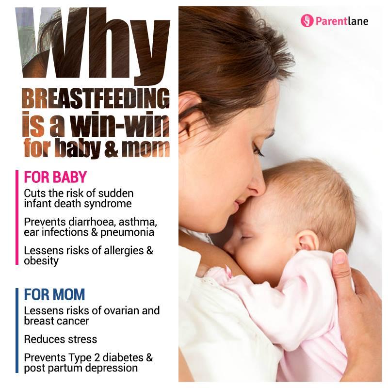 World Breastfeeding Week: How Breastfeeding Is Good For Your Baby & You!